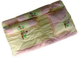 Bộ Gối Nệm Sơ Sinh Nhỏ Cotton Kara ( Xốp)